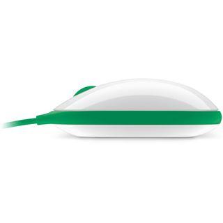 Microsoft Express Mouse USB weiß/gruen (kabelgebunden)