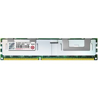 8GB Transcend Value DDR3-1333 regECC DIMM CL9 Single