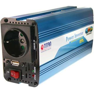 Titan Universal KFZ-Netzteil 12V auf 220V, HW-300V6 mit USB