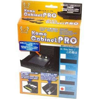 Scythe KamaCabinet Pro 5.25 Plastik bk