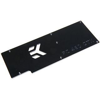 EK Water Blocks EK-FC480 GTX Backplate schwarz