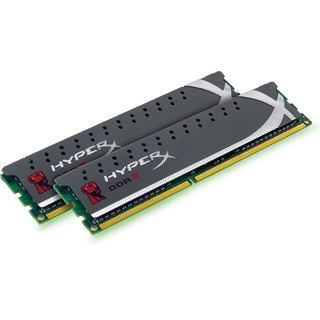 4GB Kingston HyperX Plug n Play DDR3-1600 DIMM CL9 Dual Kit