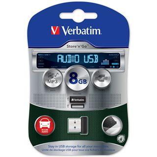 8 GB Verbatim Store `n` Go Audio schwarz USB 2.0