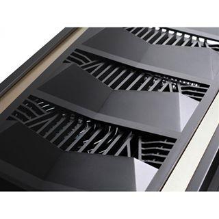 Silverstone Raven RV03 Window Big Tower ohne Netzteil schwarz/gold