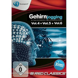 Avanquest Red Classics - Gehirnjogging 4-6 (PC)