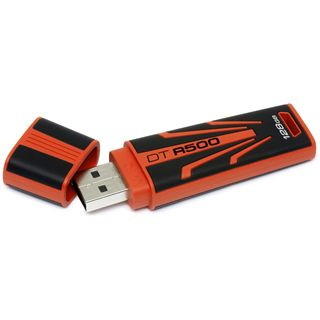 128 GB Kingston DataTraveler R500 rot/schwarz USB 2.0