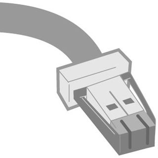Datalogic IBM PORT 9B CABLE 4 PIN 4.5M