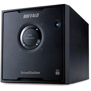 """8000GB Buffalo DriveStation Quad HD-QL8TU3R5-EU 3.5"""" (8.9cm) USB 3.0 schwarz"""