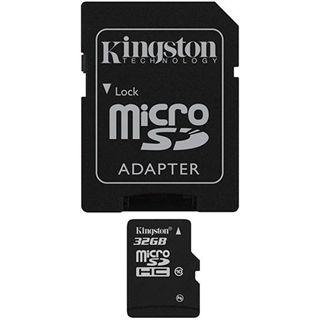 32 GB Kingston microSD Class 10 Retail inkl. Adapter