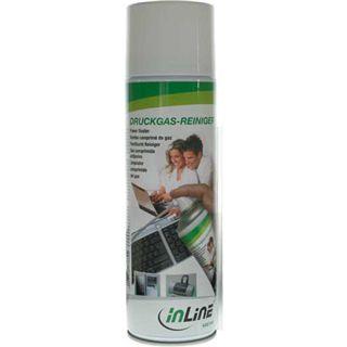 InLine Peripherie-Geräte Druckluftreiniger 400ml Spraydose (43218A)