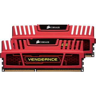 8GB Corsair Vengeance rot DDR3-1600 DIMM CL9 Dual Kit