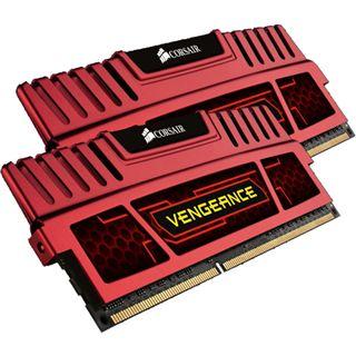 8GB Corsair Vengeance rot DDR3-1600 DIMM CL9 Dual Kit