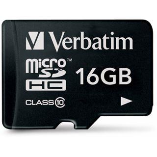 16 GB Verbatim microSDHC Class 10 Retail