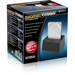 Sharkoon USB 2.0 Docking Station QuickPort Combo