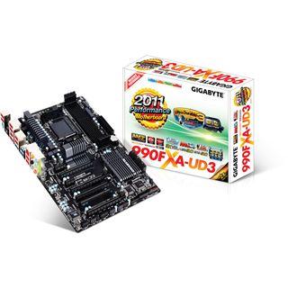 Gigabyte GA-990FXA-UD3 AMD 990FX So.AM3+ Dual Channel DDR3 ATX Retail