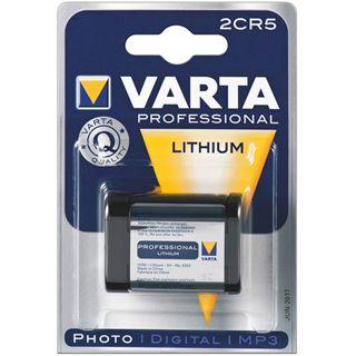 Varta Professinal Litihium für Foto, Digital-, MP3 Geräte; 6V, 1600 mAh, 1er Blister