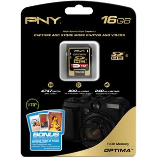 16 GB PNY Optima microSDHC Class 4 Retail