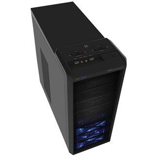 3R Systems R480 Midi Tower ohne Netzteil schwarz