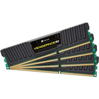16GB Corsair Vengeance LP schwarz DDR3-1600 DIMM CL9 Quad Kit