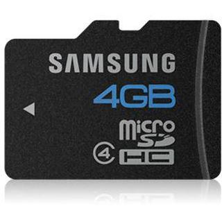 4 GB Samsung Kit Essential microSDHC Class 4 Retail inkl. Adapter