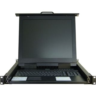 Inter-Tech 88887027 8-fach 17Zoll-VGA-LCD-Konsole