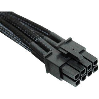 NZXT schwarzes 25cm 8-Pin Stromverbindungskabel für Grafikkarten (CB-88V)
