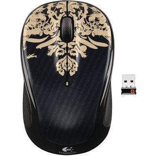 Logitech M235 Wireless Optische USB Maus Victorian Wallpaper