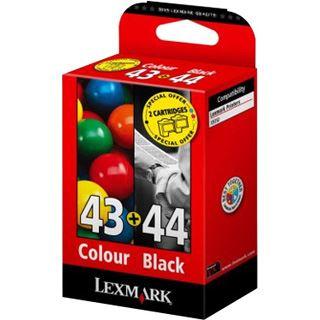 TIN Lexmark N°43 + N°44 Farbig + Schwarz