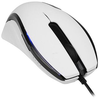 NZXT Avatar S 1600 DPI Gaming Mouse weiß