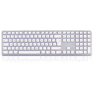 KeySonic KSK-8021 MacUH USB Deutsch weiß (kabelgebunden)
