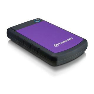 "750GB Transcend 25H3P TS750GSJ25H3P 2.5"" (6.4cm) USB 3.0 schwarz/lila"