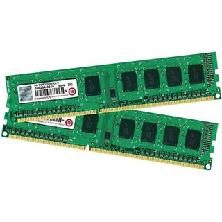 4GB Transcend JetRAM DDR3-1600 DIMM CL11 Dual Kit