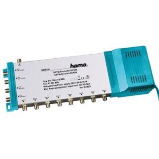 Hama 40240 SAT-Multischalter 5/8 NT - SAT-Multischalter