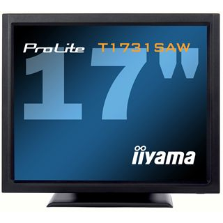 """17"""" (43,18cm) iiyama ProLite T1731SAW-B1 Touch schwarz 1280x1024 1xVGA / 1xDVI"""
