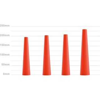 Zweibrüder LED LENSER Signalkappe für P7, B7, T7, M7, MR7, MT7, rot