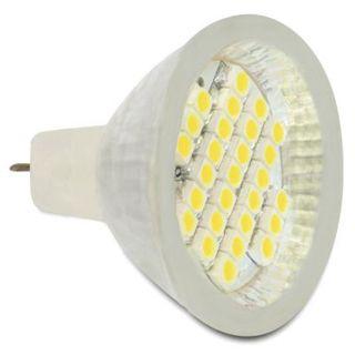 LED DeLOCK MR11 LED 27x SMD warmweiß 2,0WGlasabdeckung
