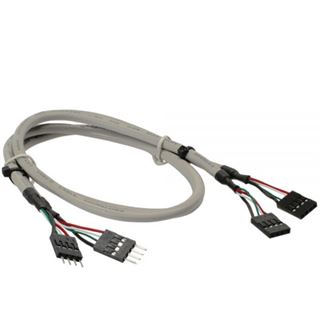 InLine Verlängerung für USB 2.0 9pol Buchse (33440J)