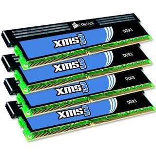 16GB Corsair XMS DDR3-1600 DIMM CL9 Quad Kit