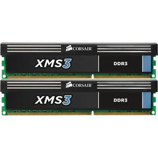 8GB Corsair XMS3 Rev. B DDR3-1600 DIMM CL9 Dual Kit