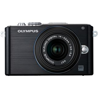 Olympus Pen E-PL3 12,3 Mpix, 7,6cm LCD schwarz