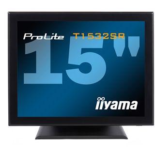 "15"" (38,10cm) iiyama ProLite T1532SR Touch schwarz 1024x720 1xVGA/1xDVI"