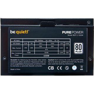 630 Watt be quiet! Pure Power L7 Non-Modular 80+