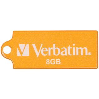 8 GB Verbatim Store `n` Go Micro orange USB 2.0