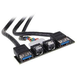Silverstone 2x USB 3.0/Audio Upgrade Montagekit für Gehäuse (G11303260)