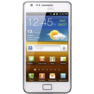 Samsung Galaxy S2 I9100 16 GB weiß