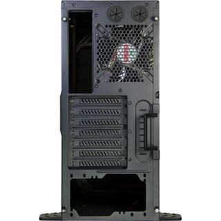 Inter-Tech Q7 Major mit Sichtfenster Midi Tower ohne Netzteil schwarz