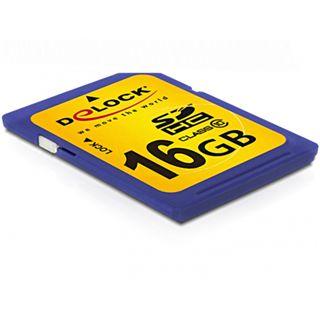 16 GB Delock Standard SDHC Class 10 Retail