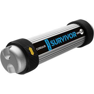 8 GB Corsair Survivor schwarz/silber USB 3.0