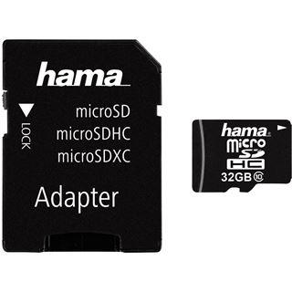 32 GB Hama High Speed microSDHC Class 10 Retail inkl. Adapter