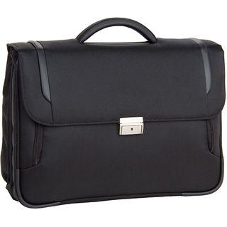 """Samsonite X-Blade Briefcase 3 Gusset16"""" Lighter, schwarz"""